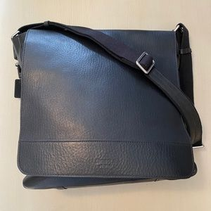SHINOLA N/S Messenger Leather Black Bag NWT